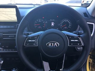 2019 Kia Seltos SP2 MY20 GT-Line DCT AWD Starbright Yellow 7 Speed Sports Automatic Dual Clutch