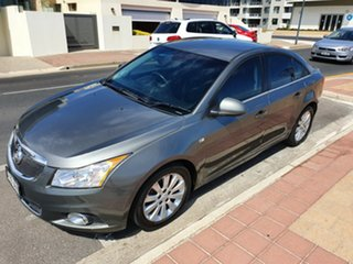 2011 Holden Cruze JH Series II MY11 CD Silver Frost 6 Speed Sports Automatic Sedan.