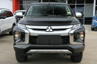2020 Mitsubishi Triton MR MY20 GLX-R Double Cab Black 6 Speed Manual Utility