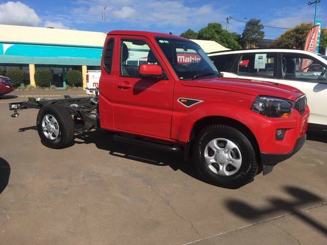 New Mahindra Pik-Up S6 2WD, 2019 Mahindra Pik-Up S6 2WD Red 6 Speed Manual Cab Chassis