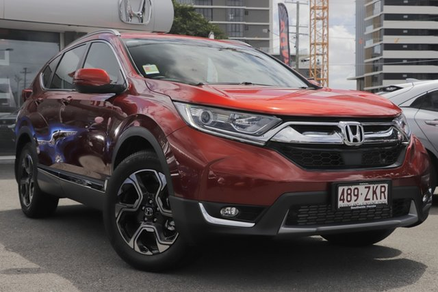 Demo Honda CR-V RW MY20 VTi-S 4WD, 2019 Honda CR-V RW MY20 VTi-S 4WD Passion Red 1 Speed Constant Variable Wagon