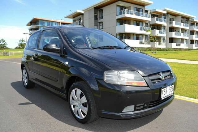 Used Holden Barina TK MY08 , 2008 Holden Barina TK MY08 Black 5 Speed Manual Hatchback