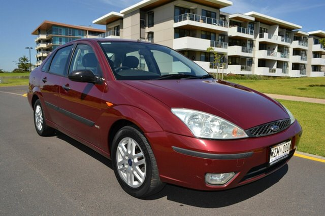 Used Ford Focus LR MY2003 SR CL, 2003 Ford Focus LR MY2003 SR CL Maroon 4 Speed Automatic Sedan