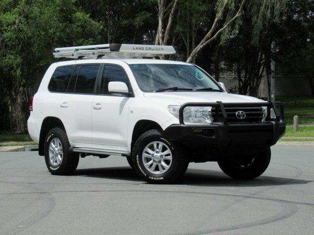Used Toyota Landcruiser UZJ200R GXL, 2009 Toyota Landcruiser UZJ200R GXL White 5 Speed Sports Automatic Wagon