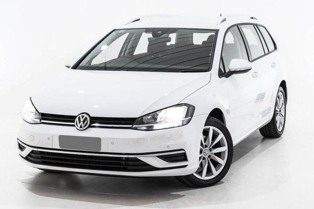 Used Volkswagen Golf 7.5 MY19.5 110TSI DSG Comfortline, 2019 Volkswagen Golf 7.5 MY19.5 110TSI DSG Comfortline White 7 Speed Sports Automatic Dual Clutch
