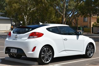 2015 Hyundai Veloster FS4 Series II Coupe D-CT White 6 Speed Sports Automatic Dual Clutch Hatchback.