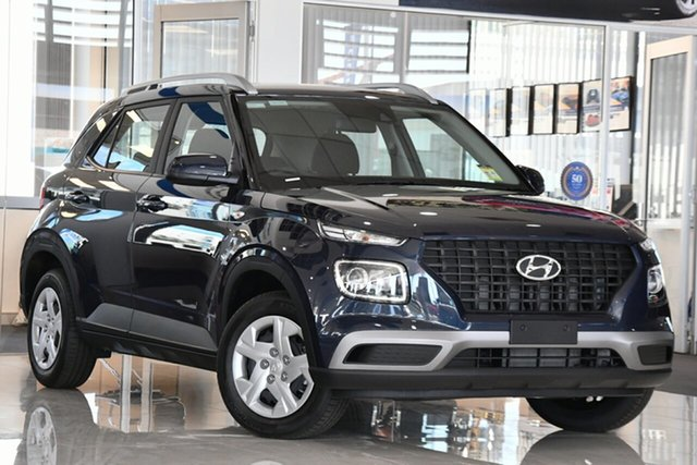 New Hyundai Venue QX MY20 Go, 2020 Hyundai Venue QX MY20 Go The Denim 6 Speed Automatic Wagon