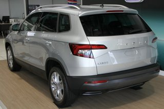 2019 Skoda Karoq NU MY20 110TSI DSG FWD Brilliant Silver 7 Speed Sports Automatic Dual Clutch Wagon.
