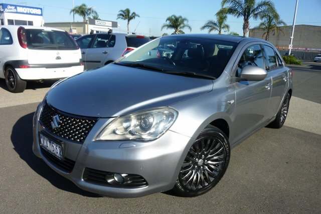 Used Suzuki Kizashi FR XLS, 2011 Suzuki Kizashi FR XLS Grey 6 Speed Constant Variable Sedan