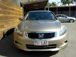 2008 Honda Accord 8th Gen VTi Gold 5 Speed Sports Automatic Sedan