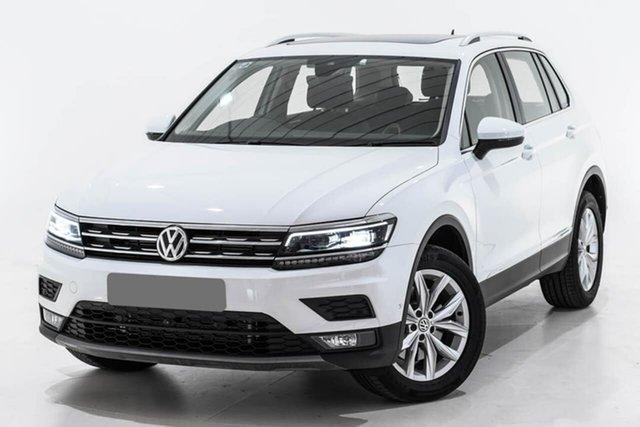 Used Volkswagen Tiguan 5N MY19.5 132TSI DSG 4MOTION Comfortline, 2019 Volkswagen Tiguan 5N MY19.5 132TSI DSG 4MOTION Comfortline White 7 Speed