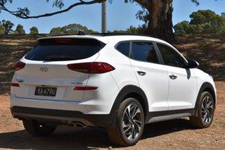 2019 Hyundai Tucson TL3 MY20 Highlander AWD White Pearl 8 Speed Sports Automatic Wagon.