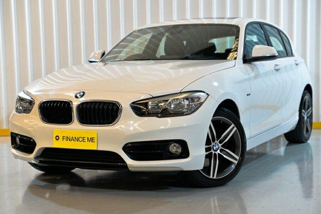 Used BMW 120i F20 LCI Sport Line, 2015 BMW 120i F20 LCI Sport Line White 8 Speed Automatic Hatchback