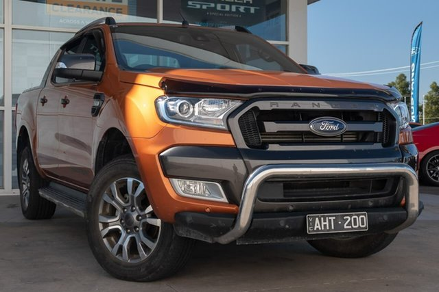 Used Ford Ranger PX MkII Wildtrak Double Cab, 2016 Ford Ranger PX MkII Wildtrak Double Cab 6 Speed Sports Automatic Utility