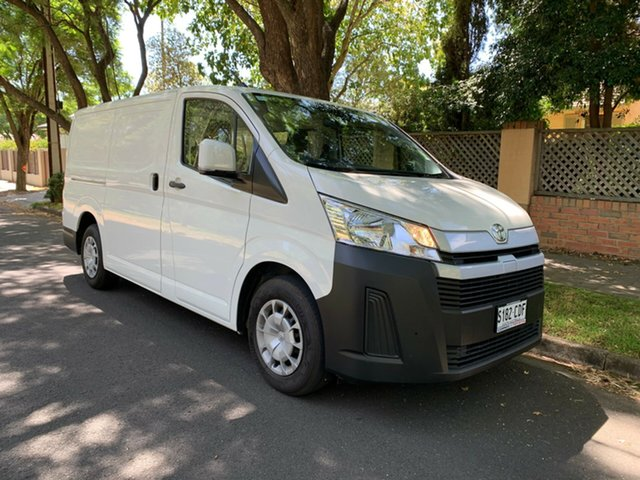Demo Toyota HiAce GDH300R LWB, 2019 Toyota HiAce GDH300R LWB White 6 Speed Sports Automatic Van