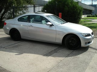 2007 BMW 3 Series E92 MY08 325i Steptronic Titanium Silver 6 Speed Sports Automatic Coupe.