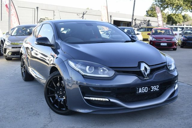Used Renault Megane III D95 Phase 2 R.S. 275 Cup Premium, 2015 Renault Megane III D95 Phase 2 R.S. 275 Cup Premium Grey 6 Speed Manual Coupe
