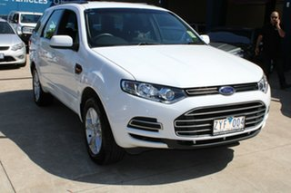 2013 Ford Territory SZ TX (RWD) White 6 Speed Automatic Wagon.
