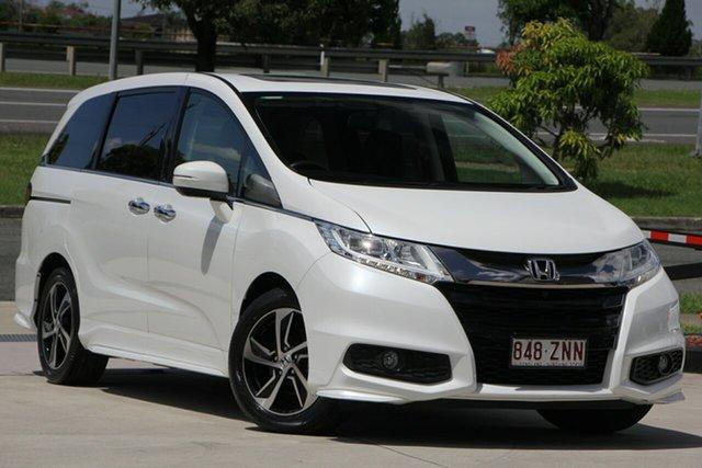 Used Honda Odyssey RC MY17 VTi-L, 2017 Honda Odyssey RC MY17 VTi-L White 7 Speed Constant Variable Wagon