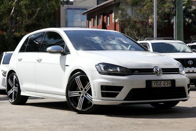 Used Volkswagen Golf AU MY16 R, 2015 Volkswagen Golf AU MY16 R White 6 Speed Direct Shift Hatchback