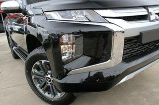 2020 Mitsubishi Triton MR MY20 GLX-R Double Cab Pitch Black 6 Speed Manual Utility.