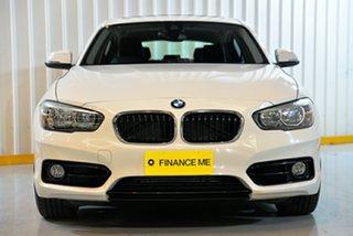 2015 BMW 120i F20 LCI Sport Line White 8 Speed Automatic Hatchback