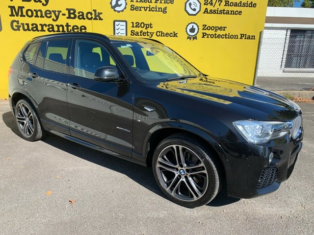 Used BMW X3 F25 LCI xDrive30d Steptronic, 2016 BMW X3 F25 LCI xDrive30d Steptronic Black 8 Speed Sports Automatic Wagon