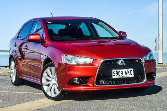 Used Mitsubishi Lancer CJ MY10 Ralliart Sportback TC-SST, 2009 Mitsubishi Lancer CJ MY10 Ralliart Sportback TC-SST Red 6 Speed Sports Automatic Dual Clutch