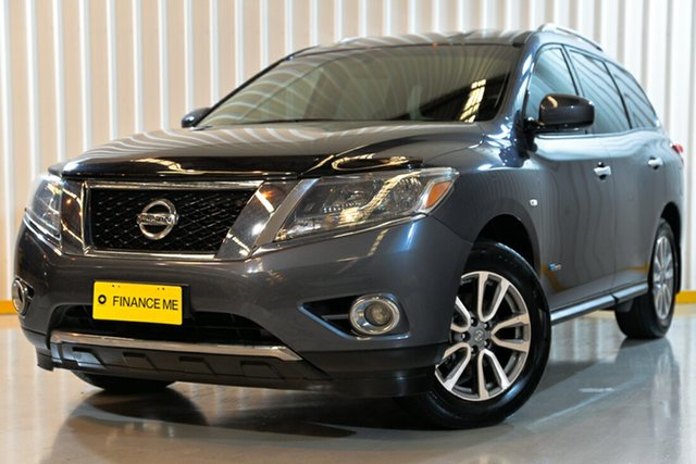 Used Nissan Pathfinder R52 MY15 ST X-tronic 2WD, 2015 Nissan Pathfinder R52 MY15 ST X-tronic 2WD Grey 1 Speed Constant Variable Wagon Hybrid