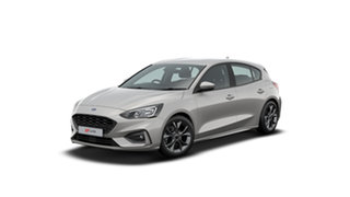 2020 Ford Focus ST-Line White 8 Speed Automatic Hatchback.