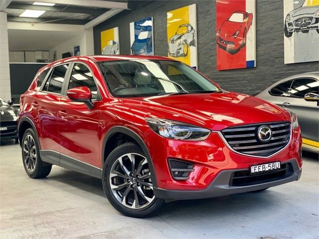 Used Mazda CX-5 KE1032 , 2015 Mazda CX-5 KE1032 Akera Red Sports Automatic Wagon