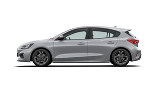 2019 Ford Focus SA 2020.25MY ST-Line Moondust Silver 8 Speed Automatic Hatchback.