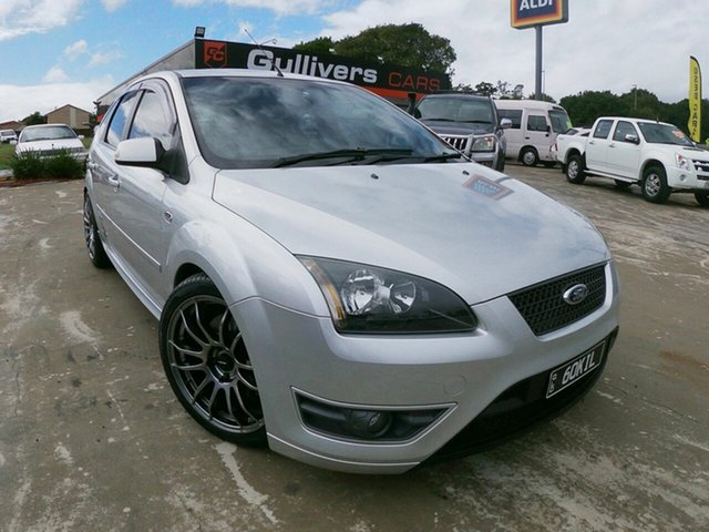 Used Ford Focus LS XR5 Turbo, 2007 Ford Focus LS XR5 Turbo Silver 6 Speed Manual Hatchback