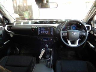 2019 Toyota Hilux GUN126R SR5 Double Cab Nebula Blue 6 Speed Manual Utility