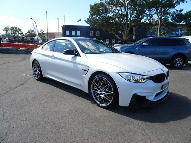 Used BMW M4 F82 Competition M-DCT, 2016 BMW M4 F82 Competition M-DCT Frozen Brilliant White Metallic 7 Speed