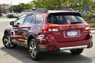 2019 Subaru Outback B6A MY19 2.5i CVT AWD Premium Crimson Red 7 Speed Constant Variable Wagon.