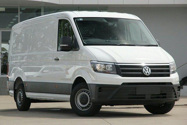 New Volkswagen Crafter SY1 MY20 50 MWB TDI410 Epsom, 2020 Volkswagen Crafter SY1 MY20 50 MWB TDI410 Candy White 8 Speed Automatic Van