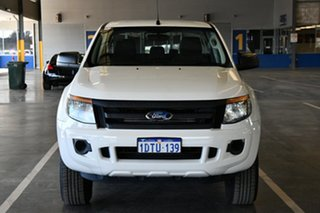 2011 Ford Ranger PX XL 2.2 Hi-Rider (4x2) Cool White 6 Speed Automatic Crew Cab Pickup