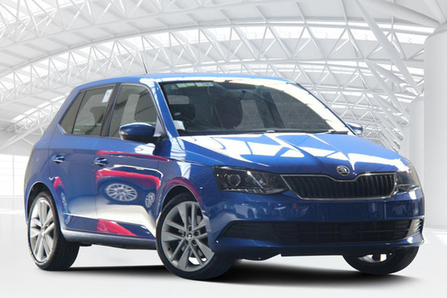 Used Skoda Fabia NJ MY18 81 TSI, 2018 Skoda Fabia NJ MY18 81 TSI Blue 7 Speed Auto Direct Shift Hatchback