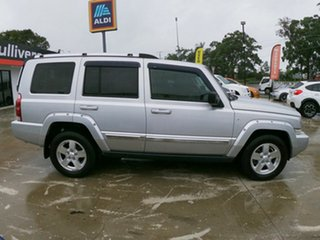 2007 Jeep Commander XH Limited Silver 5 Speed Automatic Wagon