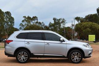 2016 Mitsubishi Outlander ZK MY16 LS 4WD Silver 6 Speed Wagon.