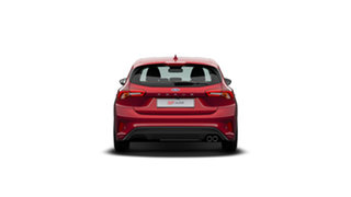 2020 Ford Focus SA 2020.25MY ST Ruby Red 7 Speed Automatic Hatchback