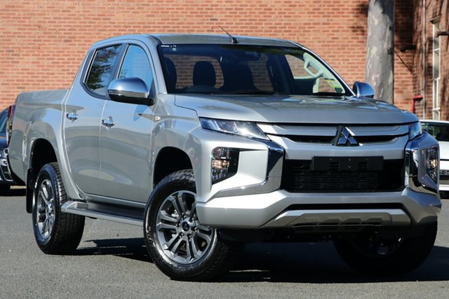 New Mitsubishi Triton MR MY20 GLX-R Double Cab, 2020 Mitsubishi Triton MR MY20 GLX-R Double Cab Sterling Silver 6 Speed Sports Automatic Utility