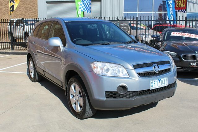 Used Holden Captiva CG MY09.5 SX (4x4) Hoppers Crossing, 2009 Holden Captiva CG MY09.5 SX (4x4) Grey 5 Speed Automatic Wagon