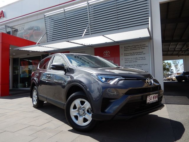 Used Toyota RAV4 ZSA42R MY17 GX (2WD), 2016 Toyota RAV4 ZSA42R MY17 GX (2WD) Graphite Continuous Variable Wagon