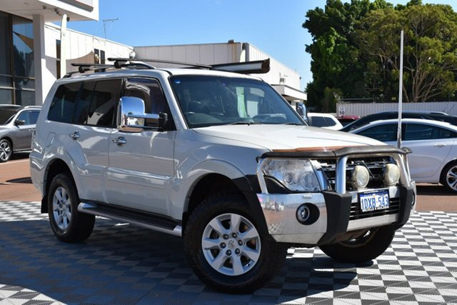 Used Mitsubishi Pajero NW MY13 GLX, 2012 Mitsubishi Pajero NW MY13 GLX White 5 Speed Sports Automatic Wagon