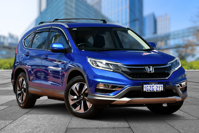 Used Honda CR-V RM Series II MY17 Limited Edition 4WD, 2016 Honda CR-V RM Series II MY17 Limited Edition 4WD Blue 5 Speed Sports Automatic Wagon