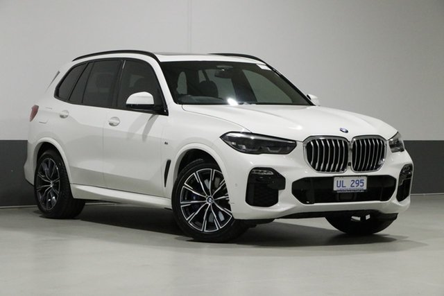 Used BMW X5 G05 MY19 xDrive 30d M Sport (5 Seat), 2019 BMW X5 G05 MY19 xDrive 30d M Sport (5 Seat) White 8 Speed Auto Dual Clutch Wagon