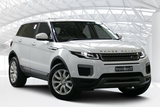 Used Land Rover Range Rover Evoque LV MY17 TD4 150 SE, 2017 Land Rover Range Rover Evoque LV MY17 TD4 150 SE White 9 Speed Automatic Wagon