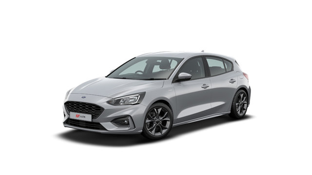 New Ford Focus SA 2020.25MY ST-Line Townsville, 2019 Ford Focus SA 2020.25MY ST-Line Moondust Silver 8 Speed Automatic Hatchback